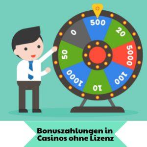 Boni in Casinos ohne deutsche Lizenz